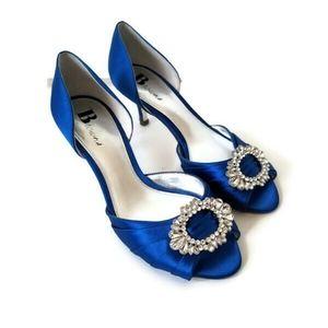 Browns Shoes Satin heels Manolo Blahnik style sz 6